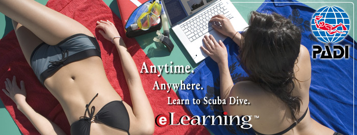 eLearning with Padi and Kennack Diving